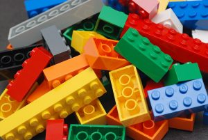 Lego Colour Bricks are made from ABS