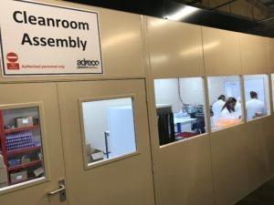 cleanroom assembly